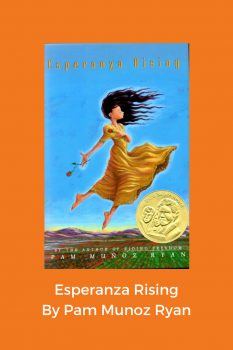 cover of Esperanza Rising by Pam Munoz Ryan