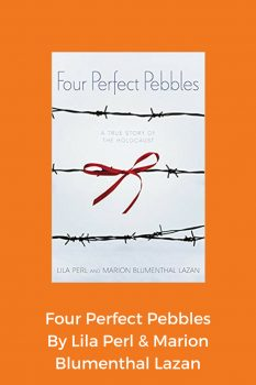 cover of Four Perfect Pebbles by Lila Perl & Marion Blumenthal Lazan