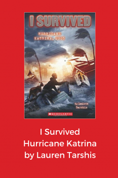 cover of I survived hurricane katrina by Lauren Tarshis
