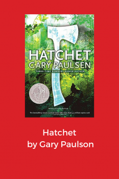 cover of hatchet by Gary Paulson