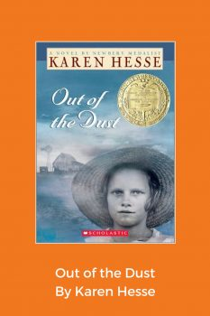 cover of Out of the Dust by Karen Hesse