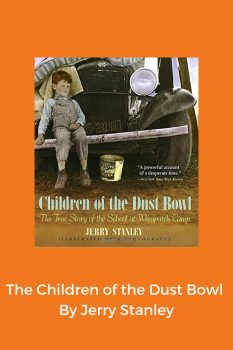 cover of The Children of the Dust Bowl by Jerry Stanley