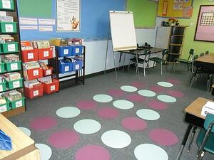 CIA Seating arrangement for students in classroom