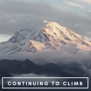 mountain symbolizing the path to continuing to climb with reading growth