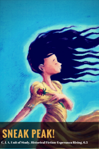 sneak peak image of historical fiction novel Esperanza Rising by Pam Muñoz Ryan