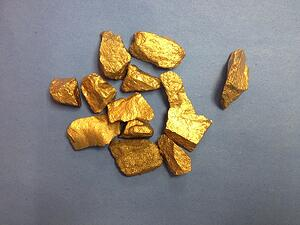 gold nuggets from children of the gold rush
