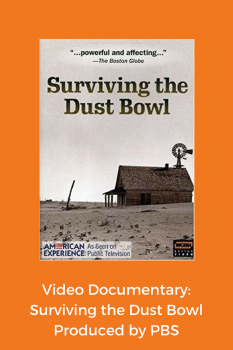 video documentary Surviving the Dust Bowl produced by PBS